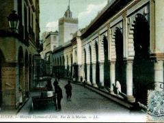 Alger-Mosquee-Djemaa-el-Kebir-Rue-de-la-Marine