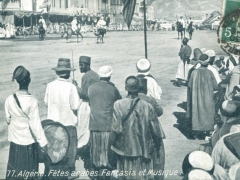 Algerie Fetes arabes Fantasia et Musique