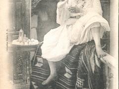 Algerie Mauresque versant son Kaoua