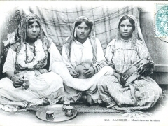 Algerie Musiciennes Arabes