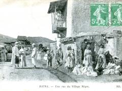 Batna-Une-rue-du-Village-Negre