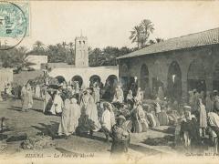 Biskra La Place du Marche