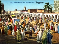 Marche d'un Village du Sud Touggourt