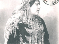 Mauresque costume d'interieur
