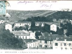 Monstaganem L Hospital et le Fort de L'Est