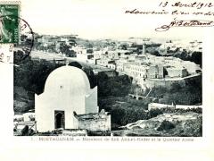 Mostaganem Marabout de Sidi Abd el Kader et le Quartier Arabe