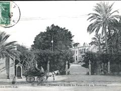 Mustapha Entree du Palais d'Ete du Gouverneur