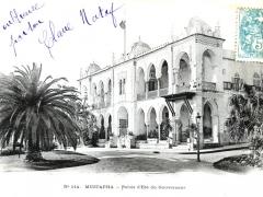 Mustapha Palais d'Ete du Gouverneur