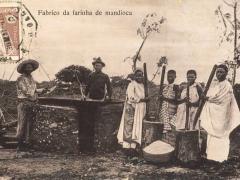 Fabrico da farinha de mandioca