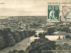 Loanda Vista parcial da cidade baixa