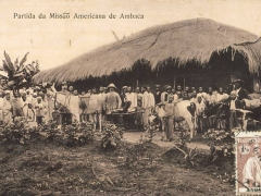 Partida da Missao Americana de Ambaca