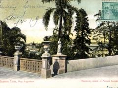 Bueneos Aires Barracas desde el Parque Lezama
