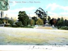 Buenos Aires Avenida Alvear y Plaza Recoleta