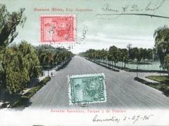 Buenos Aires Avenida Sarmiento Parque 3 de Febrero