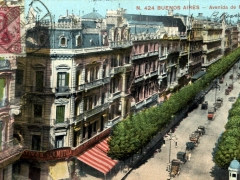 Buenos Aires Avenida de Mayo