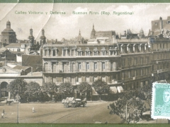 Buenos Aires Calles Victoria y Defensa