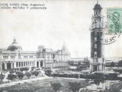 Buenos Aires Estacion Retiro y Jardines