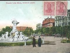 Buenos Aires Fuente Lola Mora