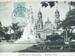 Buenos Aires Monumento a Avellaneda