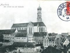 Augsburg Skt Ulrich von der Südseite
