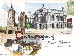 Augsburg Theater Gruss aus