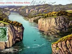 Donauenge zwischen Weltenburg Kelheim