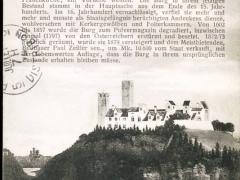 die Burg Grünwald im Isartal