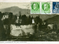 Hardenberg Ruine bei Bad Dürkheim