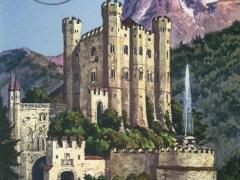 Hohenschwangau Kgl Schloss mit Säuling