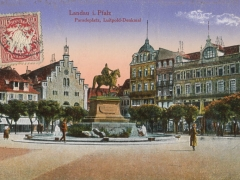 Landau Pfalz Paradeplatz Luitpold Denkmal