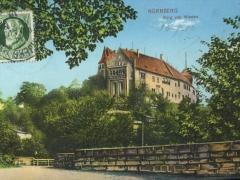 Nürnberg Burg von Westen