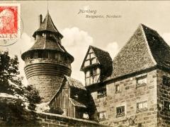 Nürnberg Burgpartie Nordseite