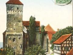 Nürnberg Heidenturm und Brunnenhäuschen