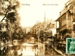 Nürnberg Blick vom Henkersteg