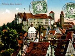 Nürnberg Burg Südseite