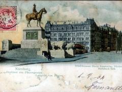 Nürnberg Denkmal des Prinzregenten Luitpold von Bayern