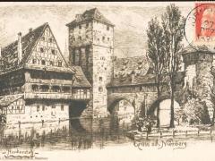 Nürnberg Henkersteg Gruss aus