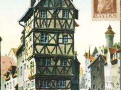 Nürnberg altes Haus am Paniersplatz