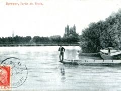 Speyer Partie am Rhein