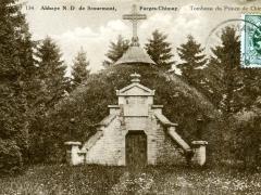 Abbaye N D de Scourmont Foges Chimay Tombeau du Prince de Chimay