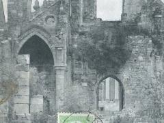 Abbaye d'Aulne Facade interieure de l' ancienne eglise