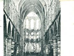 Abbaye de Villers Nef centrale Choeur