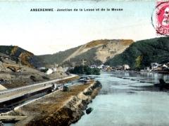 Anseremme Jonction de la Lesse et de la Meuse