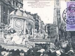 Antwerpen 1923 Juweelenstoet De Fransche Wagen