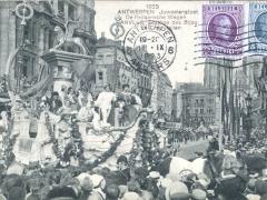 Antwerpen 1923 Juweelenstoet De Italiaansche Wagen