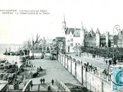 Antwerpen Aanlegplaats en Steen