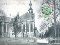 Binche Entree du Parc L'Eglise