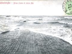 Blankenberghe Brise Lame et pleine Mer