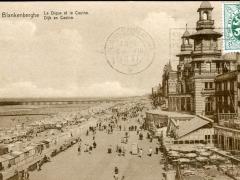 Blankenberghe La Digue et le Casino