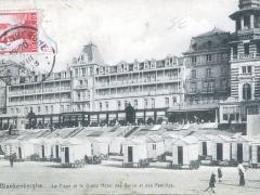 Blankenberghe La Plage et le Grand Hotel des Bains et des Familles
